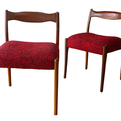 Ellie's Upholstery & Furniture - 1960's Fred Louwen Fler Chairs