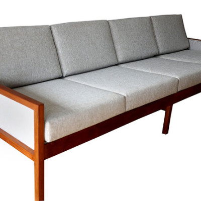Ellie's Upholstery & Furniture - 1960's Mobler 4 Seater Couch