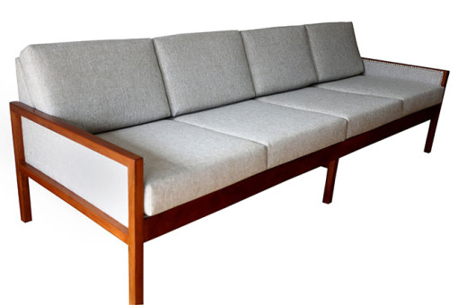 Ellie's Upholstery & Furniture – 1960's Mobler 4 Seater Couch