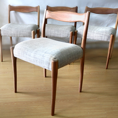 Ellie's Upholstery & Furniture - 1963 Fred Louwen Fler Chairs
