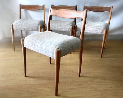 Ellie's Upholstery & Furniture – 1963 Fred Louwen Fler Chairs