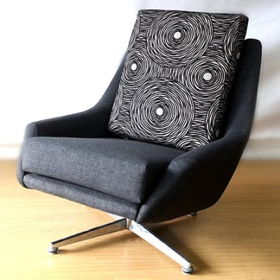 Ellie's Upholstery & Furniture - Danish Deluxe Swivel Chair