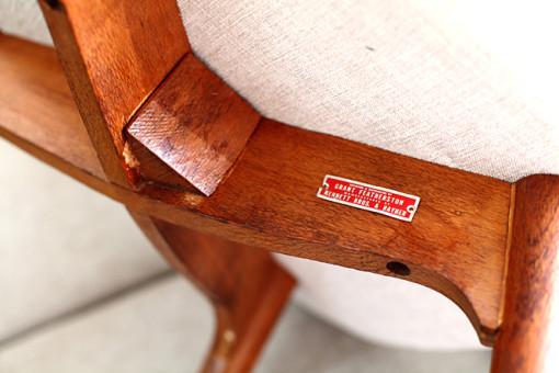 Ellie's Upholstery & Furniture – Grant Featherston Chair – The Italian Look
