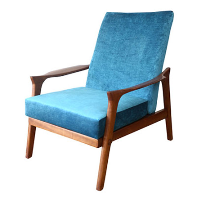 Ellie's Upholstery & Furniture - Inga Chair Blue
