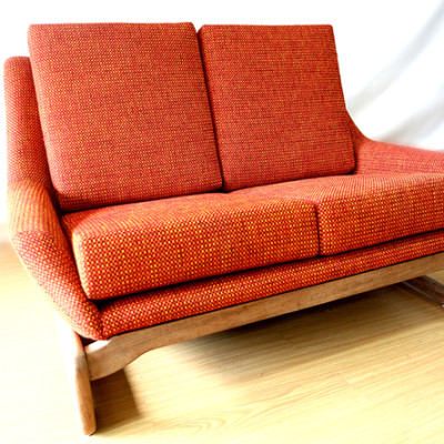 Ellie's Upholstery & Furniture - Retro 2 Seater Couch