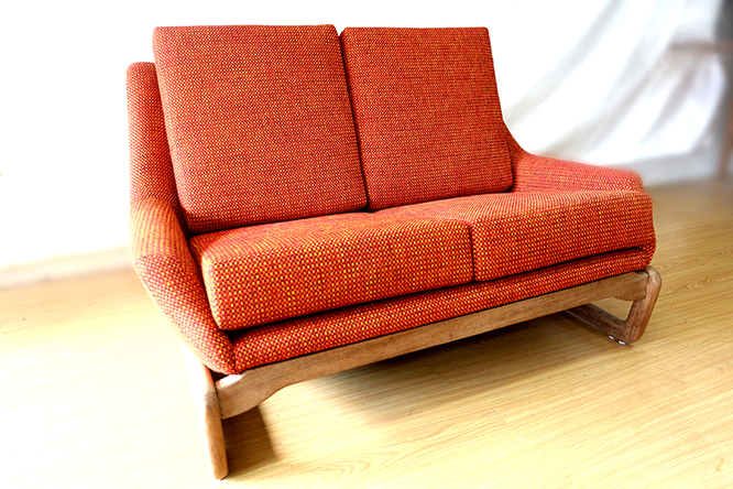 Retro Couch Ellies Upholstery Furniture