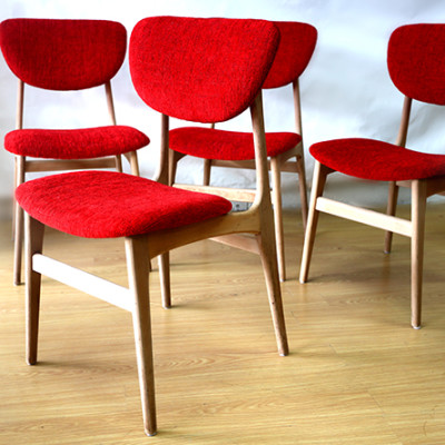 Ellie's Upholstery & Furniture - Retro Mid 60's Dining Chairs