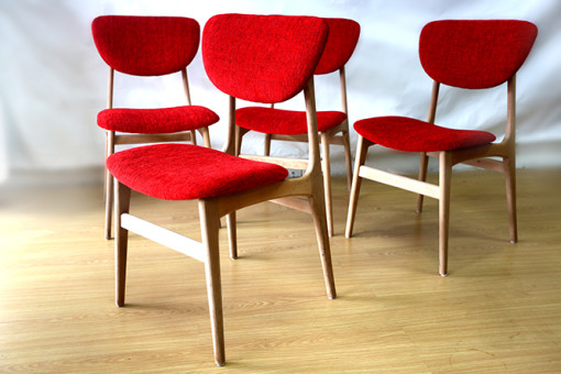 Ellie's Upholstery & Furniture – Retro Mid 60's Dining Chairs